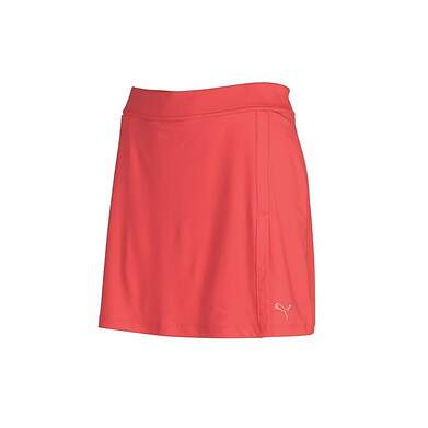 New Womens Puma Golf dryCell Solid Knit Skirt / Skort Size Small S Pink MSRP $60 568371 05