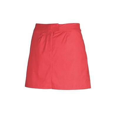 New Womens Puma Golf Pattern Tech Skort Size 4 Lipstick Red/Cayenne 569084 MSRP 70.00