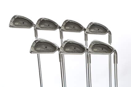 Ping ISI Iron Set 4-PW Stock Steel Shaft Steel Stiff Right Handed Black Dot 37.75 in