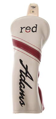 Adams 2015 Red Hybrid Headcover Head Cover Adjustable Tag Golf