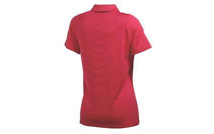 New Womens Puma Cool Cell Breathble Wicking Golf Polo Small Cerise 565767 MSRP $60