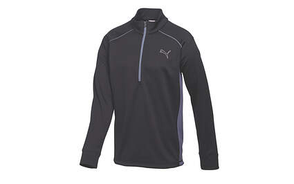New Mens Puma Thermal Warm Cell Essential Golf 1/4 Zip Pullover Medium Black 568249 MSRP $75