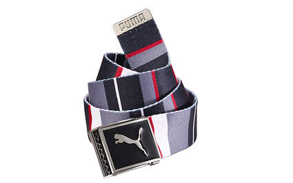 New Puma Golf Mens Belts One Size Fits Most Periscope-Tango Red Polyester 908324 MSRP $20