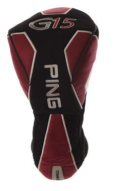 Ping G15 Driver Headcover Burgundy/Black/White