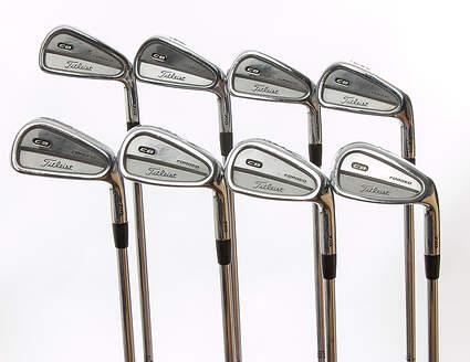Titleist 710 CB Iron Set 3-PW True Temper Dynamic Gold S300 Steel Stiff Right Handed 37.75 in