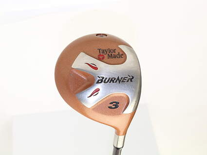 TaylorMade 1998 Burner Fairway Wood 3 Wood 3W TM Bubble Graphite Stiff Right Handed 43 in