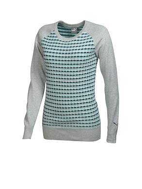 New Womens Puma Golf Novelty Sweater Small S MSRP $75