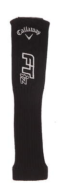 Callaway FT-iZ Hybrid Headcover Black and White Sock Style with Adjustable Tag HC