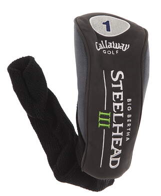 Callaway Steelhead III Driver Headcover Head Cover Golf