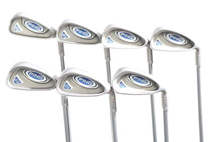Ping G5 Iron Set 4-PW Ping TFC 100I Graphite Stiff Right Handed Red dot 37.75 in