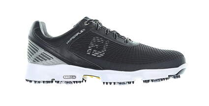 New Mens Footjoy Black/White Hyperflex Golf Shoes Size 10 Medium