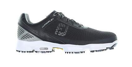 New Mens Footjoy Black/Whtie Hyperflex Golf Shoes Size 10 Medium