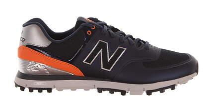 New Mens Golf Shoes New Balance NBG574B Navy/Orange 12