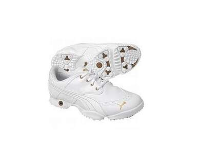 New Womens Golf Shoes Puma Dotty Medium 6.5 White MSRP $139.99
