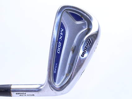 Mizuno MX 200 Single Iron 6 Iron Dynalite Gold XP R300 Steel Regular Right Handed 37.5 in