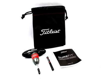 Titleist 917 SureFit CG Adjustment Tool w/ Pouch, Manual, & 12g SureFit Weight