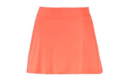 New Womens Puma Golf Skirt Fluro Peach Small Dry Cell Stretch Wicking 570561 MSRP $55