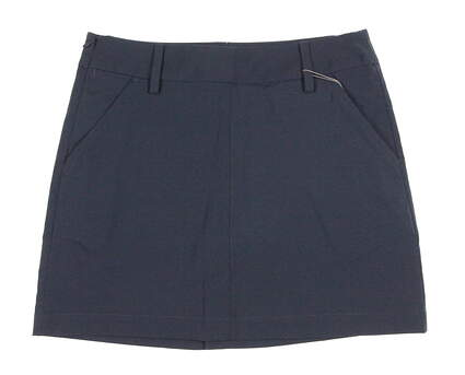 New Womens Puma Golf Skort Bering Sea Size 4 Dry Cell Wicking Stretch MSRP $65