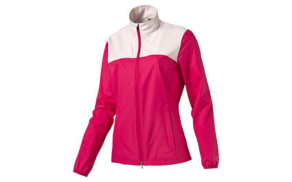 New Womens Puma Full Zip Golf Wind Jacket Small Rose Red/Pink 570549 MSRP $70