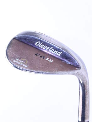 Cleveland CG15 Black Pearl Wedge Lob LW 58* 12 Deg Bounce Cleveland Traction Wedge Steel Wedge Flex Right Handed 35.25 in