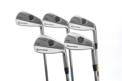 TaylorMade 2011 Tour Preferred MB Iron Set 6-PW Nippon NS Pro 750GH Steel Regular Right Handed 37.5 in