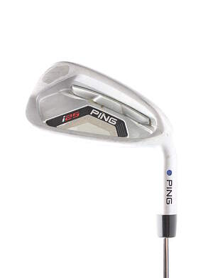 Ping I25 Single Iron 7 Iron Ping CFS Steel Stiff Right Handed Blue Dot 36.75 in