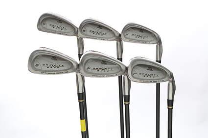 Cobra Gravity Back Iron Set 5-PW Stock Graphite Shaft Graphite Regular Right Handed 38 in