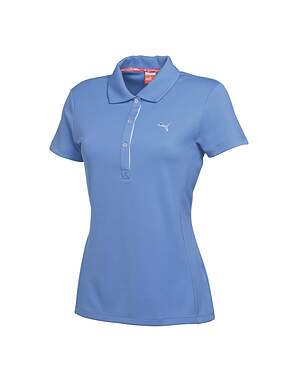 New Womens Puma Golf Dry Cell Golf Tech Polo Size Small S Ultramarine MSRP $50