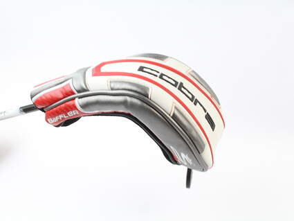 Cobra T-Rail + Hybrid Headcover Head Cover Red White Silver Golf