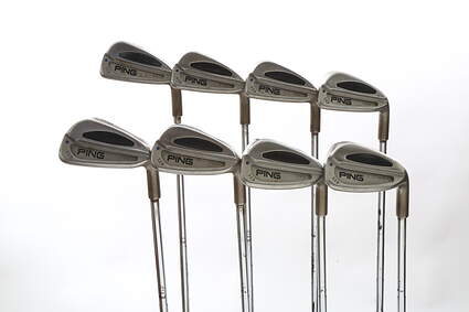 Ping S59 Iron Set 3-PW True Temper Dynamic Gold Steel Stiff Right Handed Blue Dot 37.5 in