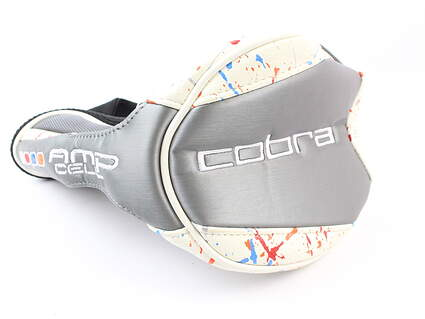 Cobra AMP Cell Driver Headcover Multicolor/White/Black