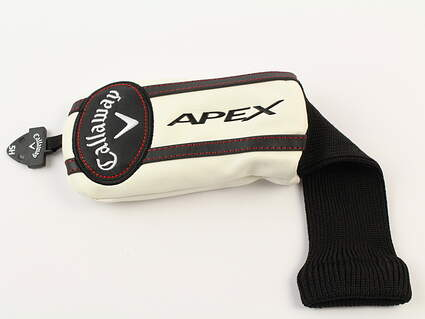 Callaway Apex Hybrid Headcover White/Black W/ Adjustable Tag