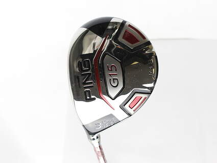 Ping G15 Draw Fairway Wood 3 Wood 3W 15.5* Ping TFC 149F Graphite Stiff Left Handed 42.75 in