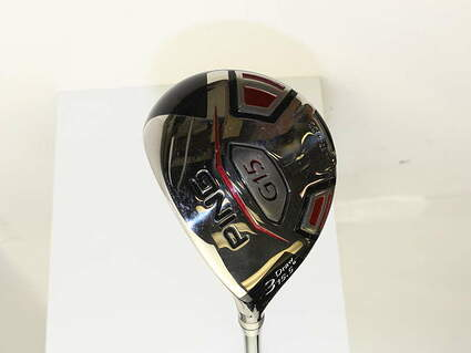 Ping G15 Draw Fairway Wood 3 Wood 3W 15.5* Aldila Serrano 75 Fairway Graphite Stiff Left Handed 42.75 in