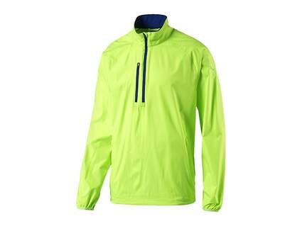 New Mens Puma 1/2 Zip Wind Jacket Medium M Green Gecko MSRP $70 570473