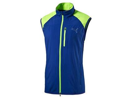 New Mens Puma Wind Vest Medium M Surf The Web MSRP $70 570496