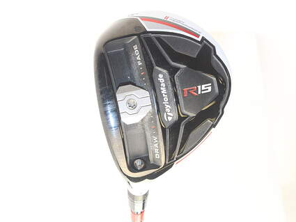TaylorMade R15 Fairway Wood 3 Wood 3W 15* Fujikura Speeder Evolution 67 Graphite Stiff Left Handed 4