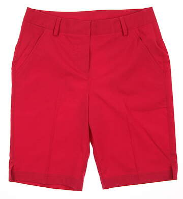 New Womens Puma Pounce Bermuda Shorts Size 4 Rose Red MSRP $65 570552