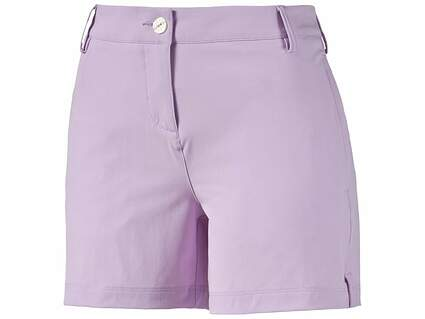 New Womens Puma Golf Scoop Shorts Size 4 Orchid Bloom MSRP $60 570555 03