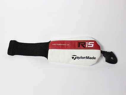 TaylorMade R15 Hybrid Headcover Red/White/Black