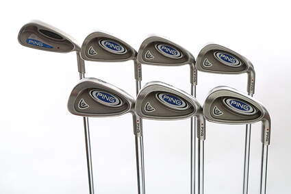 Ping i5 Iron Set 4-PW Rifle Prescion Steel 5.0 Right Handed Red dot 38.75 in