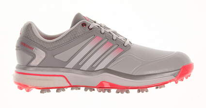 New Womens Golf Shoe Adidas Adipower Boost Medium 8.5 Gray MSRP $160