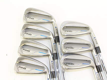 Ping 2015 i Iron Set 4-PW Ping CFS Steel Stiff Right Handed Blue Dot 37.75 in