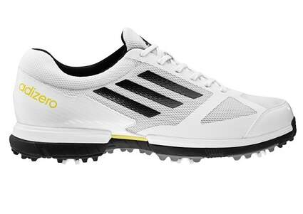 New Mens Golf Shoes Adidas Adizero Sport Medium 8.5 White 672204 MSRP $115