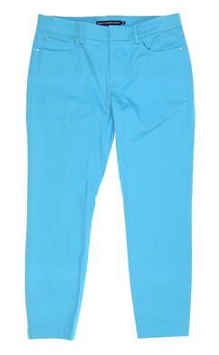 New Womens Ralph Lauren Golf Capris Size 6 Blue MSRP $98