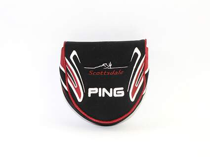 Ping Scottsdale Center Shaft Mallet Putter Headcover Putter