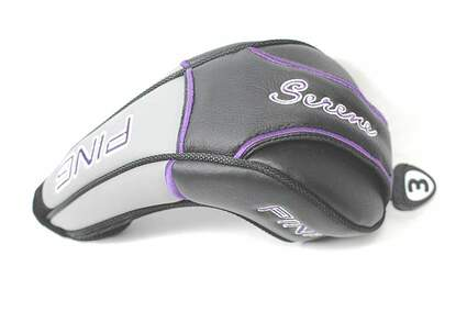 Ping Serene 3 Fairway Wood Ladies Headcover Black/Purple/Grey