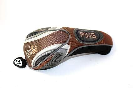 Ping G10 21° 3 Hybrid Headcover Orange/Grey/Black