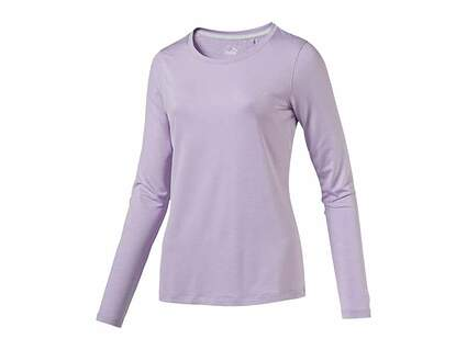New Womens Puma Golf Long Sleeve Small S Orchid Bloom MSRP $70