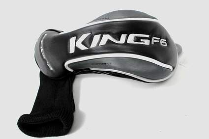 Cobra King F6 Fairway Wood Headcover Black/White/Gray